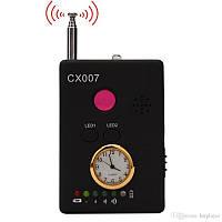 CX007 Многофункциональный радиосигнал камера Телефон GSM GPS WiFi Поиск детекторов ошибок с сигналом тревоги для обеспечения безопасности
