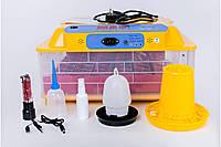 Автоматический инкубатор Quail 36 12/220В (36 яиц, овоскоп, подстветка), фото 1