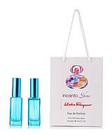 Incanto Shine Salvatore Ferragamo 2 по 20 мл в подарочной упаковке (для женщин)