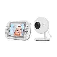 Vvcare-851 3.5 дюймов 2.4GHz Wireless Baby Монитор TFT LCD Видео ночного видения 2-сторонняя аудиодетанта для новорожденных Baby Intercom камера