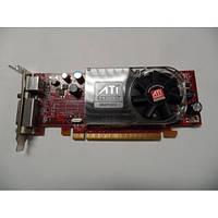 Видеокарта на 256 Мб ATI Radeon Hd 3450 + переходник Dms-59