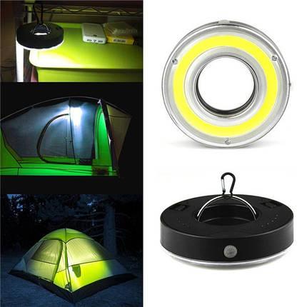 Батарея Powered Mini На открытом воздухе Work Light Emergency COB LED Кемпинг Свет с 3 режимами, фото 2