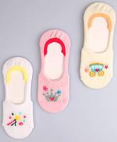 Р. 25-27 ( 3-5 лет ) невидимые носки , следки для девочки оптом