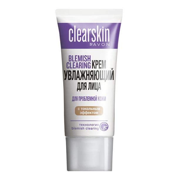 Увлажняющий крем для лица с тональным эффектом «Для проблемной кожи» Avon, Эйвон, Ейвон