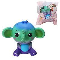 Squishy Jumbo Elephant Galaxy Color Toy Slow Rising Soft Подарочная упаковка для животных Оригинальная упаковка