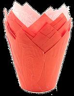 Форма бумажная Тюльпан красная, 200 шт