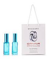 Bvlgari Omnia Crystalline 2 по 20 мл в подарочной упаковке (для женщин)