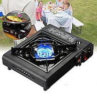 2900WПортативныйКемпингГазоваяплитаБутан Горелка На открытом воздухе Кухонная плита для пикника