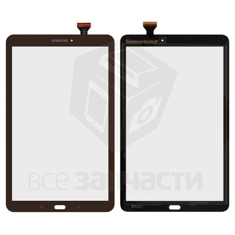 Samsung T560 Galaxy Tab E 9.6 Тачскрин (сенсор)  для планшета коричнев