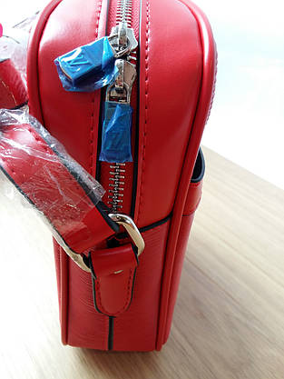 Сумка Louis Vuitton Supreme кросс-боди красная, фото 3