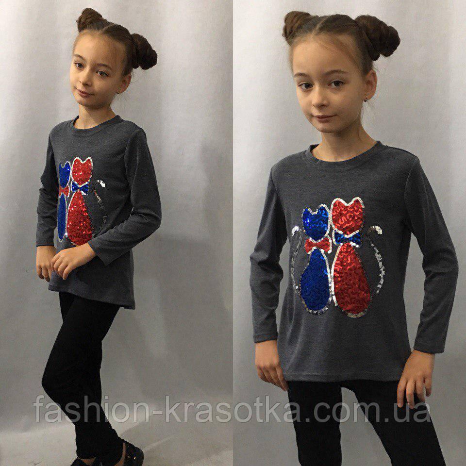 """Модная детская туника """"Котята"""""""