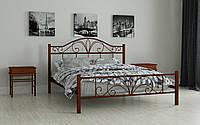 ✅Металлическая кровать Элиз 160х190 см. Мадера