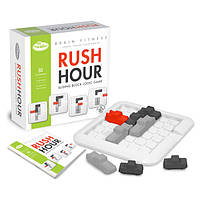 Настольная игра-головоломка Час пик Фитнес для мозга Rush Hour Brain Fitness ThinkFun 14+ 1 игрок 15-30 мин