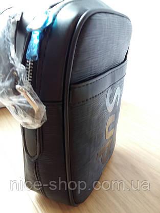 Сумка Louis Vuitton Supreme кросс-боди черная, фото 2