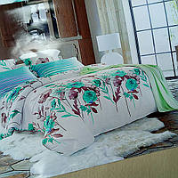 Комплект постельного бель полуторный из сатина