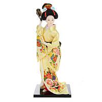 30см Восточная японская парча Кимоно Кабуки Кукла Гейша Фигура Статуя Статуэтки