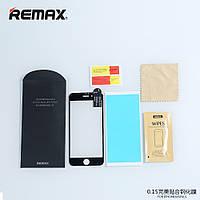 Защитное стекло Remax Perfect для Iphone 6+/6S plus \ Black, фото 1