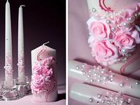 Купить свадебные товары, свечи