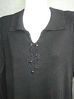 Пуловер  женский из кашемира черного цвета
