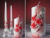 Свечи на свадьбу набор из 3-х
