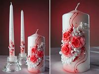 Свечи на свадьбу набор из 3-х, фото 1