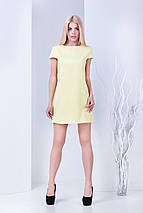Женское жаккардовое платье с коротким рукавом (Джема mrb), фото 3