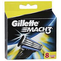 Сменные кассеты для бритья Gillette Mach 3 (8 шт.) KG1710725