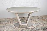 Овальный обеденный стол DENVER 140/180*95 капучино (бесплатная доставка), фото 5