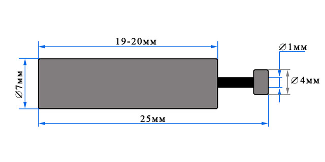 Мотор для квадрокоптеров x5c-1 против часовой стрелки