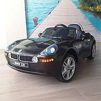 Детский электромобиль BMW Z8 JJ1288 EBLR-2: 70W, 2.4G, EVA, кожа - ЧЕРНЫЙ - купить оптом , фото 1