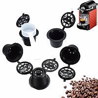 5Pcsмногоразовыхмногоразовыхкофейныхкапсулпод фильтров для машины Nespresso с Щетка