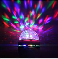 Диско лампа  E27 RGB 3W