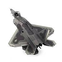 Aipin DIY 3D-головоломка из нержавеющей стали Модель Набор F22 Истребитель