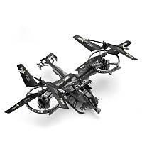 YD-711 2.4GHz 4 канала Инфракрасный RC Вертолет Дрон Летающая игрушка