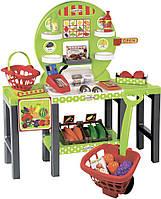 Детский продуктовый супермаркет Ecoiffier с корзинками и продуктами (001747)