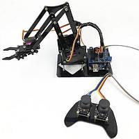 4DOF Рука робота с Дистанционное Управление PS2 Самозабор с MG90s Сервопривод для Arduino UN R3 Программирование