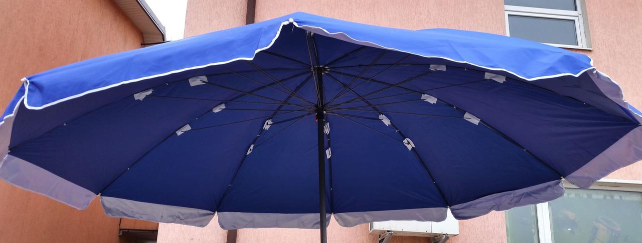 Зонт садовый, торговый, круглый, мощный, двойная ткань, 3 м, мод-107