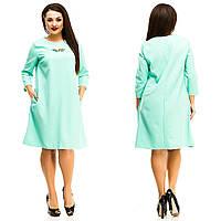 Платье женское большие размеры (цвета) АНД5061, фото 1