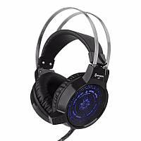 V7 Colorful Light Flashing Gaming Headphone Headset with Mic Deep Bass для планшетного компьютера Lattop
