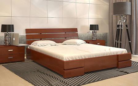 ✅Деревянная кровать Дали Люкс с механизмом 160х190 см ТМ Arbor Drev, фото 2