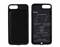 Чехол для Iphone 7 с доп.батареей HOCO BW2 3000mah (Black)