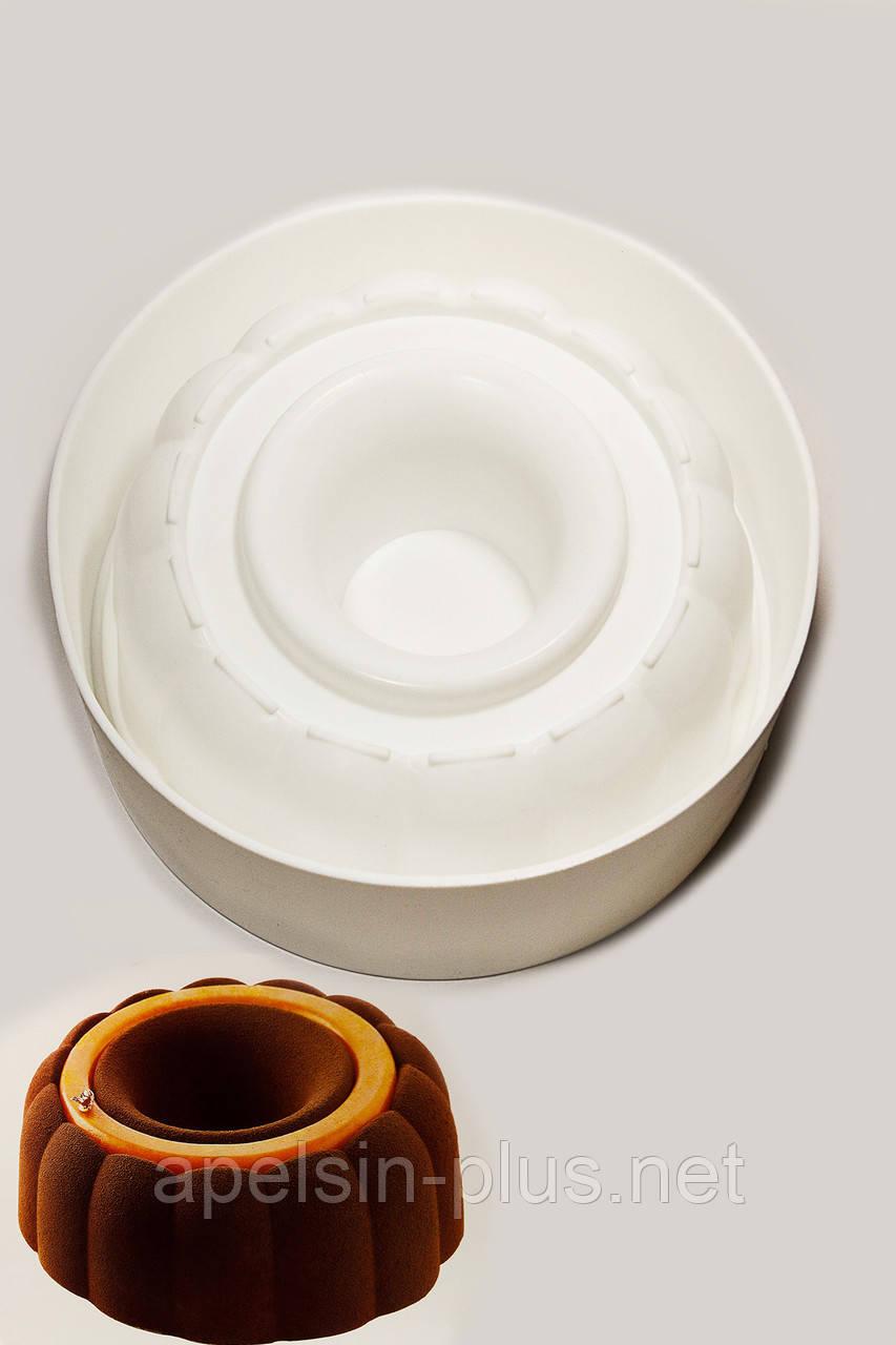 Силиконовая форма для муссовых тортов Paradize Tortafleks (Buc)