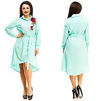 Платье женское большие размеры (цвета) АНД5047, фото 1
