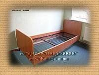 Кровать 1-но спальная на металлическом каркасе стандарт