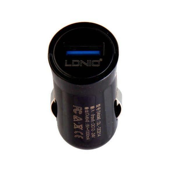 Автомобильное зарядное USB LDNIO 2.1A (DL-C12)