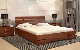 ✅Дерев'яне ліжко Дали Люкс 120х190 см ТМ Arbor Drev