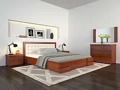 ✅Дерев'яне ліжко Регіна Люкс з механізмом 160х190 см ТМ Arbor Drev
