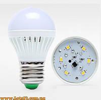 Энергосберегающая светодиодная лампа 3W E27 6 LED (лампочка Е27)