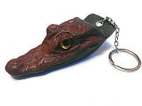 Брелок из головы крокодила RIVER (SCM 2), фото 1