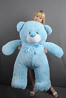 Голубой большой плюшевый мишка Вэтли 140 см